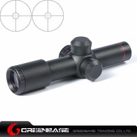 Greenbase Optic Hunting 4 5X20 Red Illuminated Mil Dot Riflescope With Flip Up Covers Riflescopes Hunting