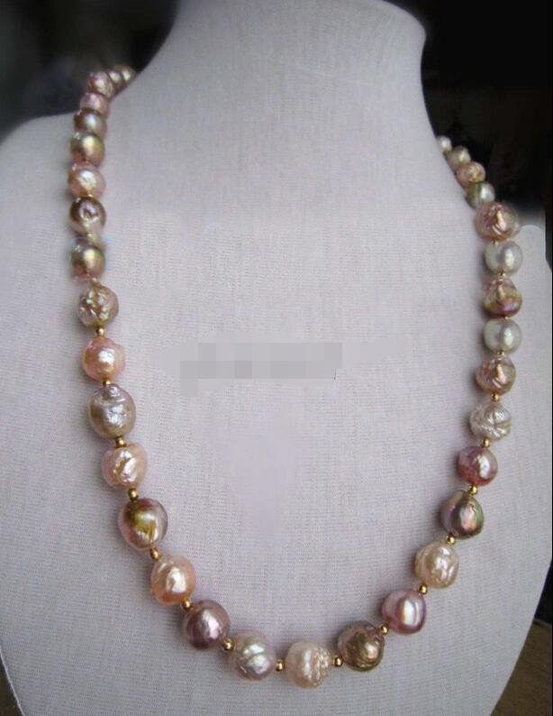 Magnifique collier de perles baroque 18