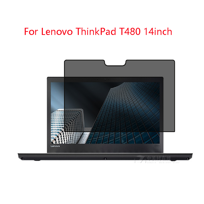 For Lenovo ThinkPad T480 14inch  Laptop Screen Privacy Screen Protector Privacy Anti-Blu-ray Effective Protection Of Vision