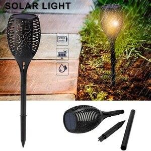 Image 3 - 4Pcs/lot Dancing Flame Light Solar Light Mpow IP65 Waterproof LED Solar Torch Light Outdoor Path Yard Decor Solar Garden Light