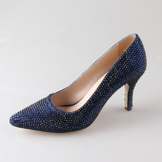Photos Of Navy Blue Heels For Wedding