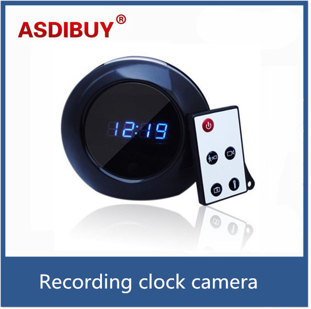 1280x960 mini dvr cam audio video recorder motion detección reloj de la cámara con 90 grados de ángulo de vídeo digital control remoto
