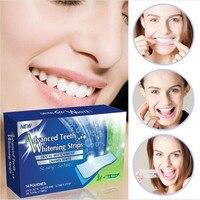 28Pcs/Box 360 Degree Advanced Teeth Whitening Strips Dental Whitening Kit Enamel White Whitestrips Whitening teeth stick
