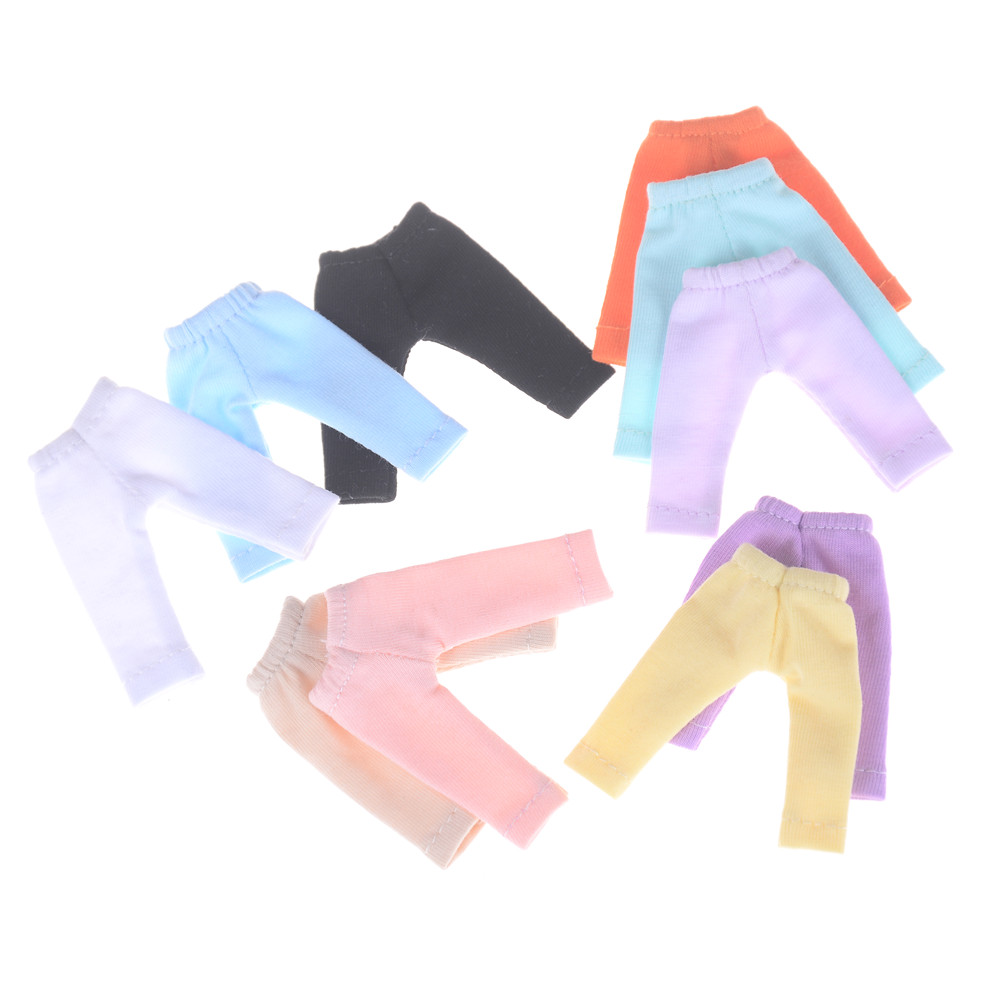 Candy Color Long Pants Doll Tights Pants Leggings For Doll 11 OB11 1/12 BJD Doll Pants Clothes Doll Accessories