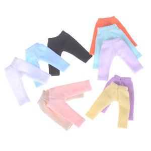 Candy Color Long Pants Doll Tights Pants Leggings For Doll 11 OB11 1/12 BJD Doll Pants Clothes Doll Accessories(China)