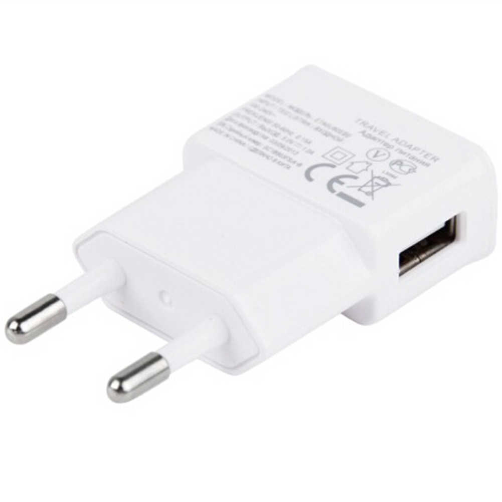 ЕС вилка белый 5 в USB настенное зарядное устройство с микро USB кабель для samsung для xiaomi для LG телефонов Android