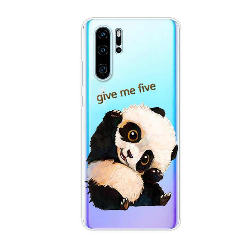 الهاتف حافظة لهاتف Huawei P30 برو حالة P30Pro سيليكون اللوحة لينة غطاء من البولي يوريثان الحراري ل فوندا هواوي P30 لايت P30Lite حالة واضحة P30 P 30