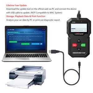 Image 4 - KONNWEI KW590 Universal OBD2 EOBD CAN Code Reader Diagnose Scanner Autoscanner Motor Diagnose Tool Besser Als AD310 NL100