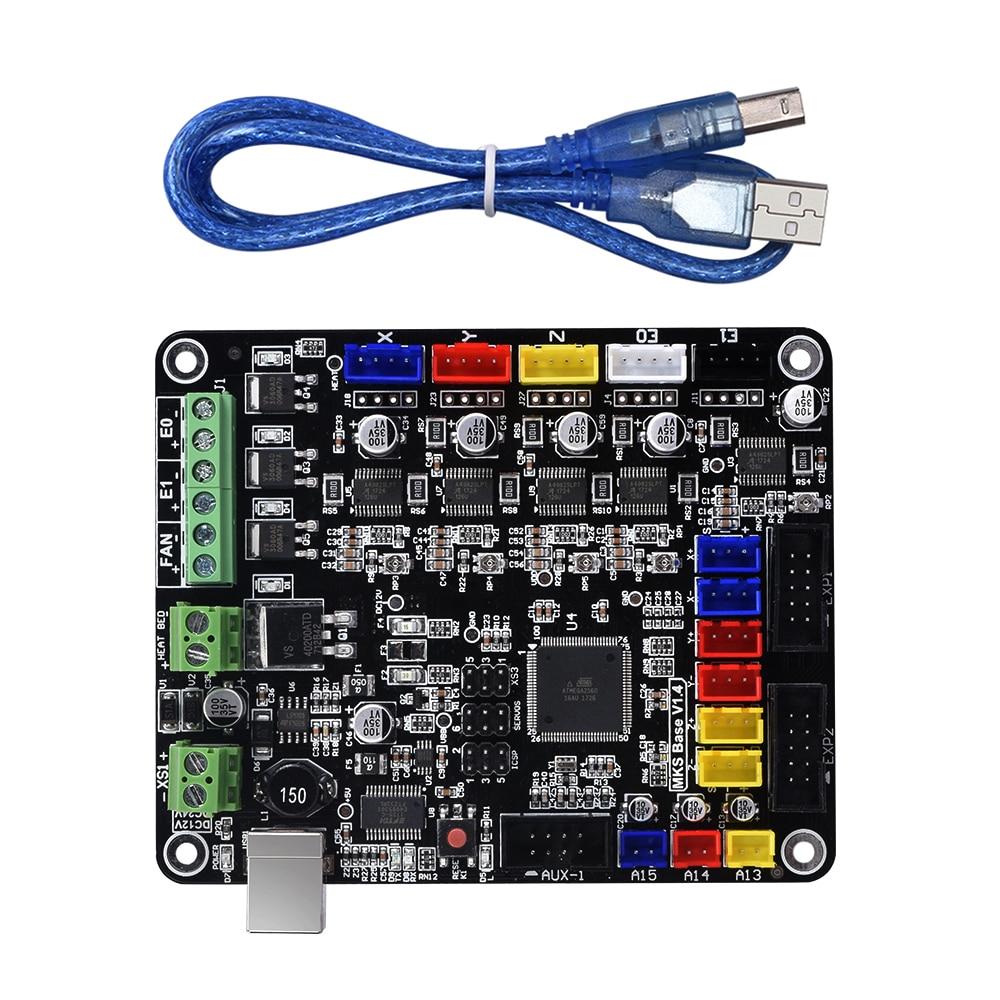 3D Printer MKS BASE V1.4 Similar To MKS BASE V1.5 Controller Board Compatible Mega2560&RAMPS1.4 RepRap Mendel