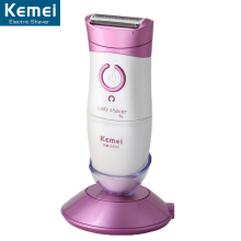 KEMEI Hot Sell New Women Shave Wool Device Knife Electric Shaver Wool Epilator Shaving Lady's Shaver Female Care  Full Body Use