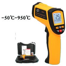 Infrared thermometer, industrial grade infrared hand-held thermometer
