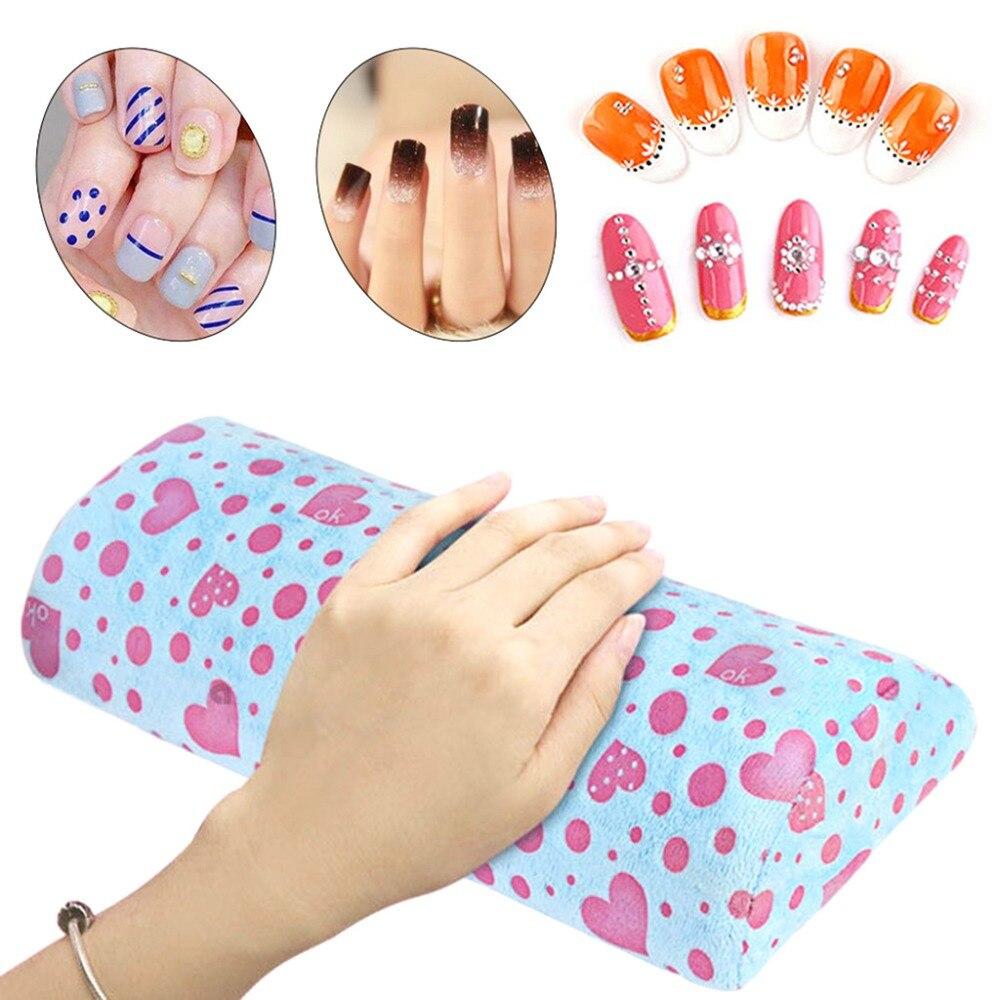Handauflagen Schönheit & Gesundheit Kemei Abnehmbare Waschbar Hand Arm Rest Kissen Nail Art Weichen Schwamm Kissen Maniküre 30,5x13,7x6,5 Cm