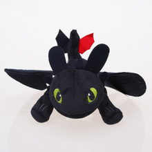23cm /33cm Night Fury Plush Toy How to Train Your Dragon Toothless Toys Plush Dolls Toys for baby boys girls kids children