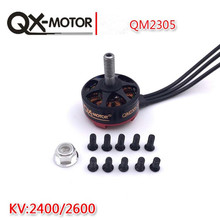 High Quality QX-MOTOR QM2305 PRO 2400KV 2600KV 4S Brushless Motor For 200 210 220 250 RC Frame Kit