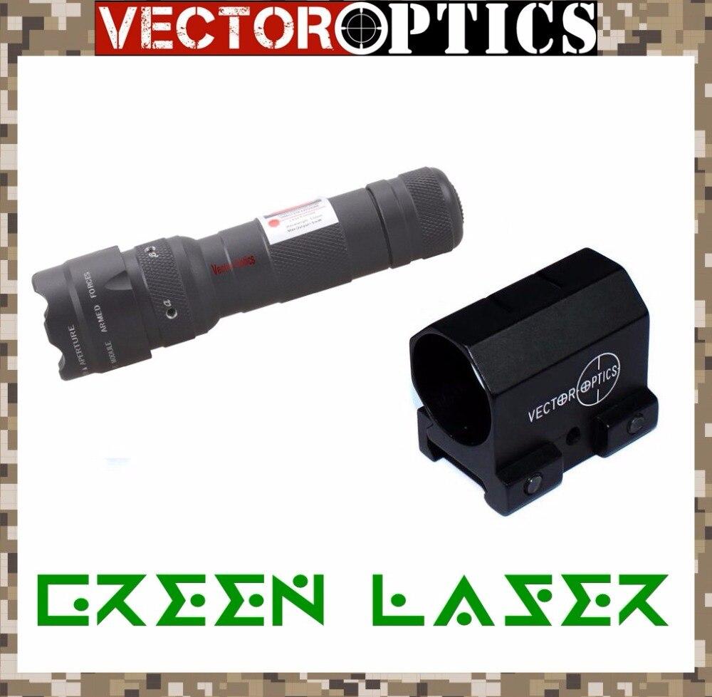 Vector Optics Starscream Réglable Chasse Laser Vert Dot Sight Collimateur Pistolet Lazer fit pour Tactique Fusil Airsoft