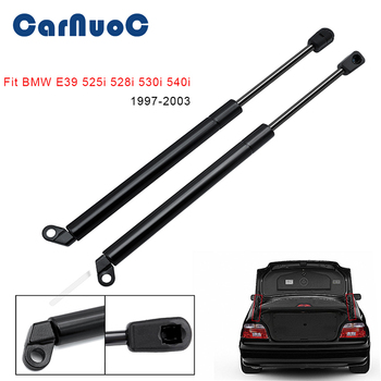2pcs Car Auto Tailgate Gas Struts Lift Spring Shock Gas Struts for BMW E39 525i 528i 530i 540i M5 1997-2003 gas spring free shipping car auto 90kg 900n force ball studs lift strut metal gas spring 900mm 400mm