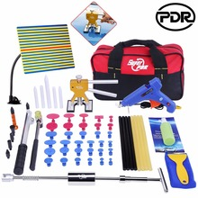 PDR Outils Kit Outils De Débosselage Débosselage sans peinture Outils voiture Dent De Réparation Réparation Des Dommages De Grêle PDR Kits D'outils À Main ensembles