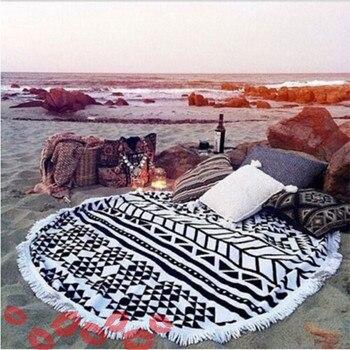 Bohemian Microfibre Round Beach Towel