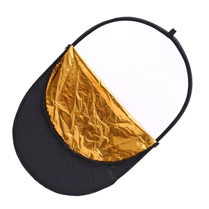 Image 2 - CY 60x90cm 24x35 5 in 1 Multi Disc Photography Studio Photo Oval Collapsible Light Reflector handhold portable photo disc