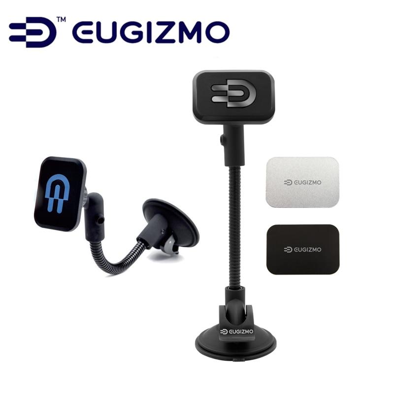 EUGIZMO Universal Car Kit Windshield Dash Magnetic Mobile Mount mobile phone holder for Apple iPhone Samsung