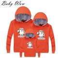 2015 Winter full family clothing  Hoodies family matching clothes Sweaters Baymax Fashion Family Matching Outfits lyw-30813