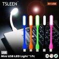 2017 Hot Sale TSLEEN 1 pc DC 5 V Mini USB CONDUZIU a Luz Flexível Pescoço Para Banco De Potência Lanterna/HUB/Carregador de Carro