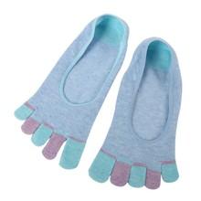 Hot Women Ladies Low Cut Crew Ankle Socks Cute Five Finger Toe Hosiery Socks Gifts H34