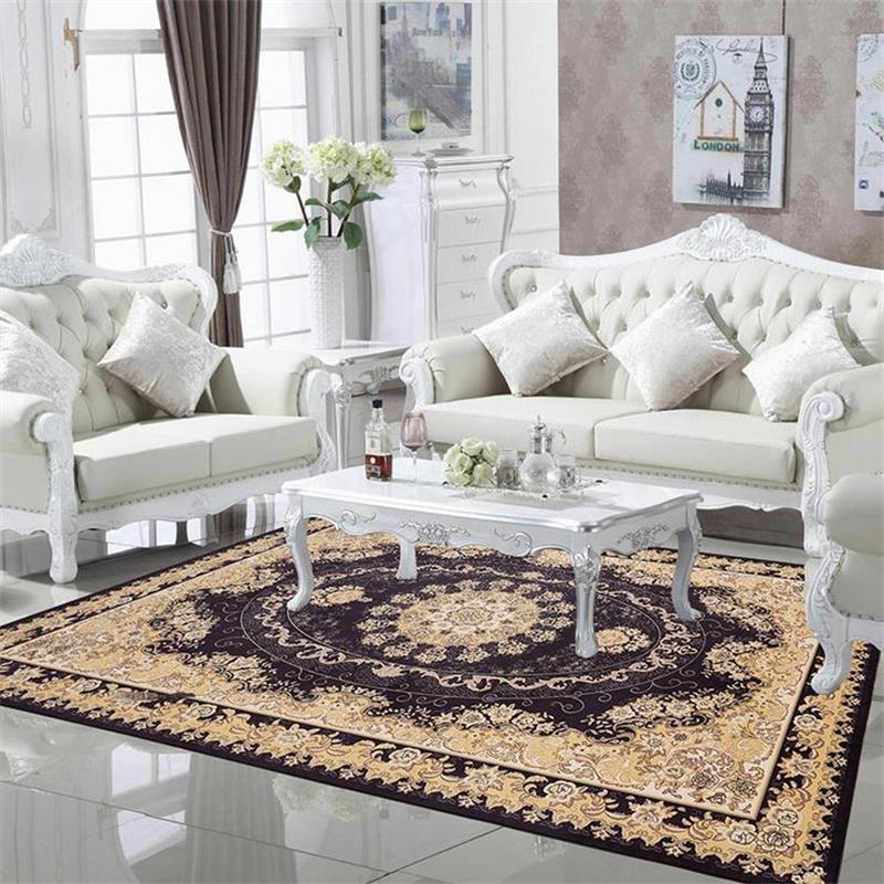Carpets For Living Room Europe Countryside Bedroom Rugs And Carpets Home Decor Area Rug Coffee