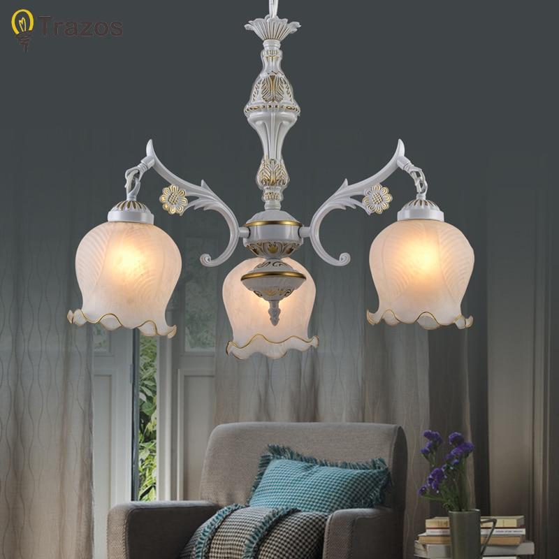 2017 New Hot genuine zinc vintage foyer lamp LED Chandelier lights Top novelty Indoor Lights wedding