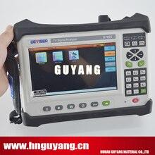 2019 NEW Version Deviser S7200 Digital Satellite TV Analyzer DVB-C/T/H/T2/S/S2 support 4K H.265