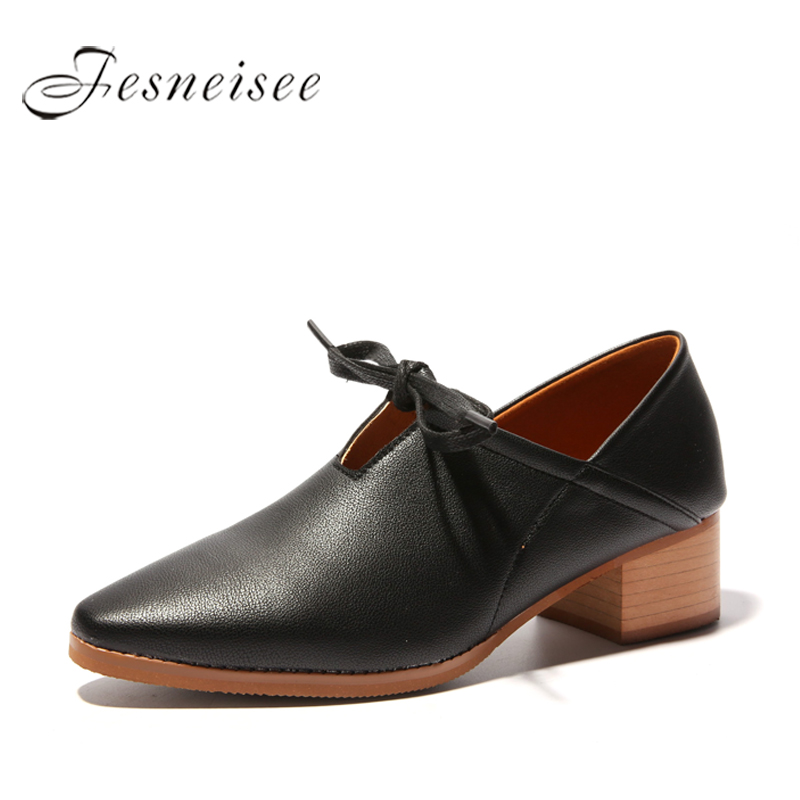 2018 Women Shoes Mary Jane Ladies Low Heels Wedding Shoes Square Heel Pumps Pointed Toe Lady Shoes Black Beige Size 35-40 P6.0 large size 42 rhinestone shoes women low heel pumps pointed toe genuine leather shoes women high heels mary janes ladies shoes