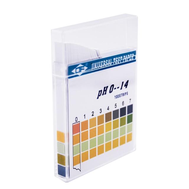 PH Test Strip Universal  Aquarium Water Testing Litmus Paper 1-14 Acidic Alkaline Indicator Food Urine Lab Soil Tester  20%off