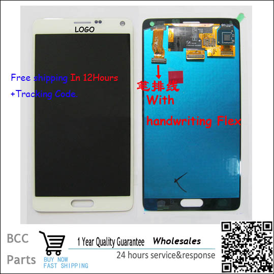 Original guarantee! For samsung Note 4 N910F N910A N910P N910T LCD Display+Touch Screen Digitizer 100% NEW Test ok 100% brand new lcd digitizer touch screen display assembly for samsung galaxy note 4 n910 n910a n910v n910p n910t black or white