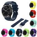 Perfecto regalo nueva moda pulsera de silicona de deportes venda de la correa para samsung gear s3 frontera levert dec29 dropship