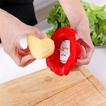 Красный/зеленый картофельный шелк Handguard кухонный артефакт защита пальцев кухонные инструменты аксессуары Кухонные гаджеты домашняя кухня