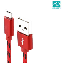 CloudTech Cable Nylon Braided Micro USB Magnectic Cable Data Charge Cable Magnet Fast Charging Cable for Xiaomi Samsung Android