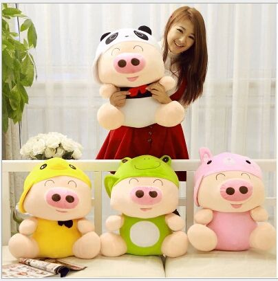 big creative plush animal mcdull pig toy lovely pig doll gift about 70cm lovely giant panda about 70cm plush toy t shirt dress panda doll soft throw pillow christmas birthday gift x023