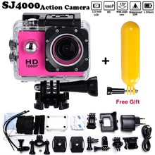 Free Reward Mini Camcorder go model 1080p Full HD DVR SJ4000 30M Waterproof Motion Digital camera 1.5″LCD Display professional Free transport