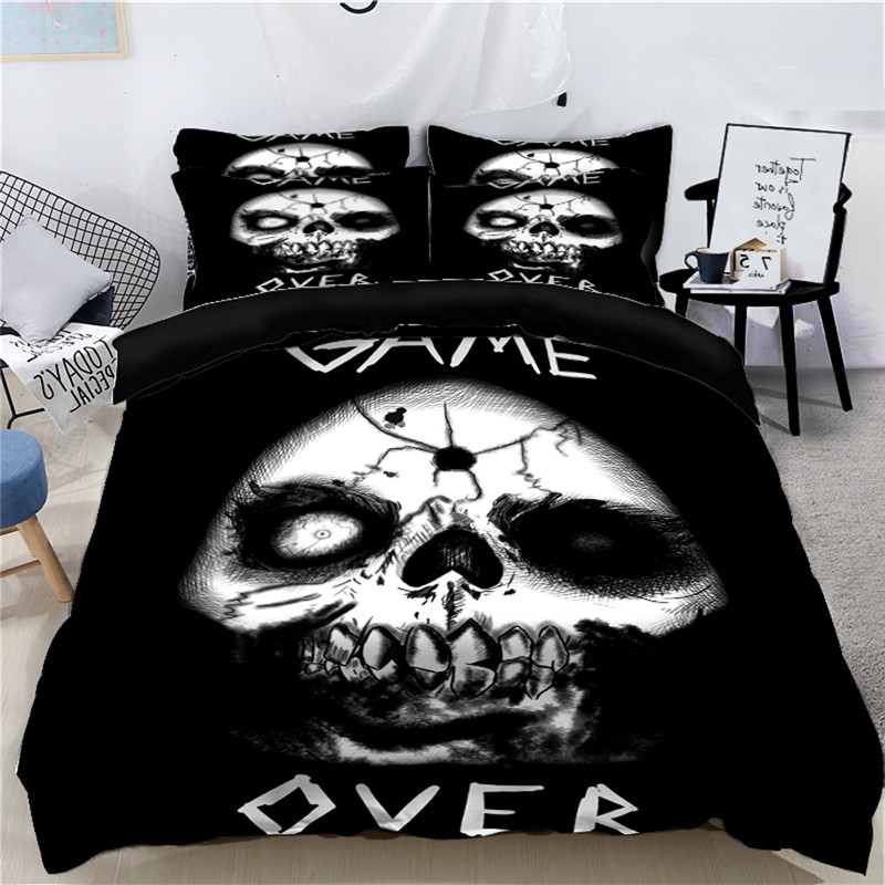 Kids King Size Bedding.Us 62 49 40 Off 2018 Halloween Duvet Cover Set 4 Pieces Queen King Super King Size Bedding Set For Kids Bedroom Decor Soft Bed Linen Custom Size In