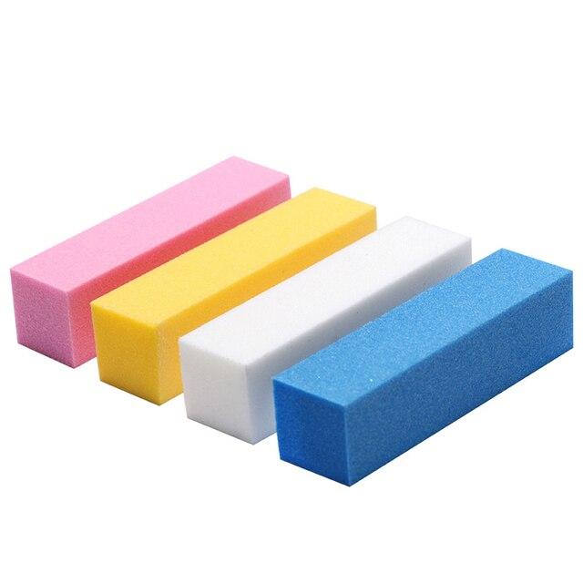 Nail Art Buffers Sanding Block Buffing Grinding Polishing Block Nail File Buffer Pedicure Professional Nail Art Tools 2