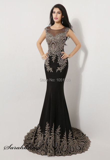 2015 Formal Fishtail Mermaid Elegant Long Party Evening Dress Prom ...