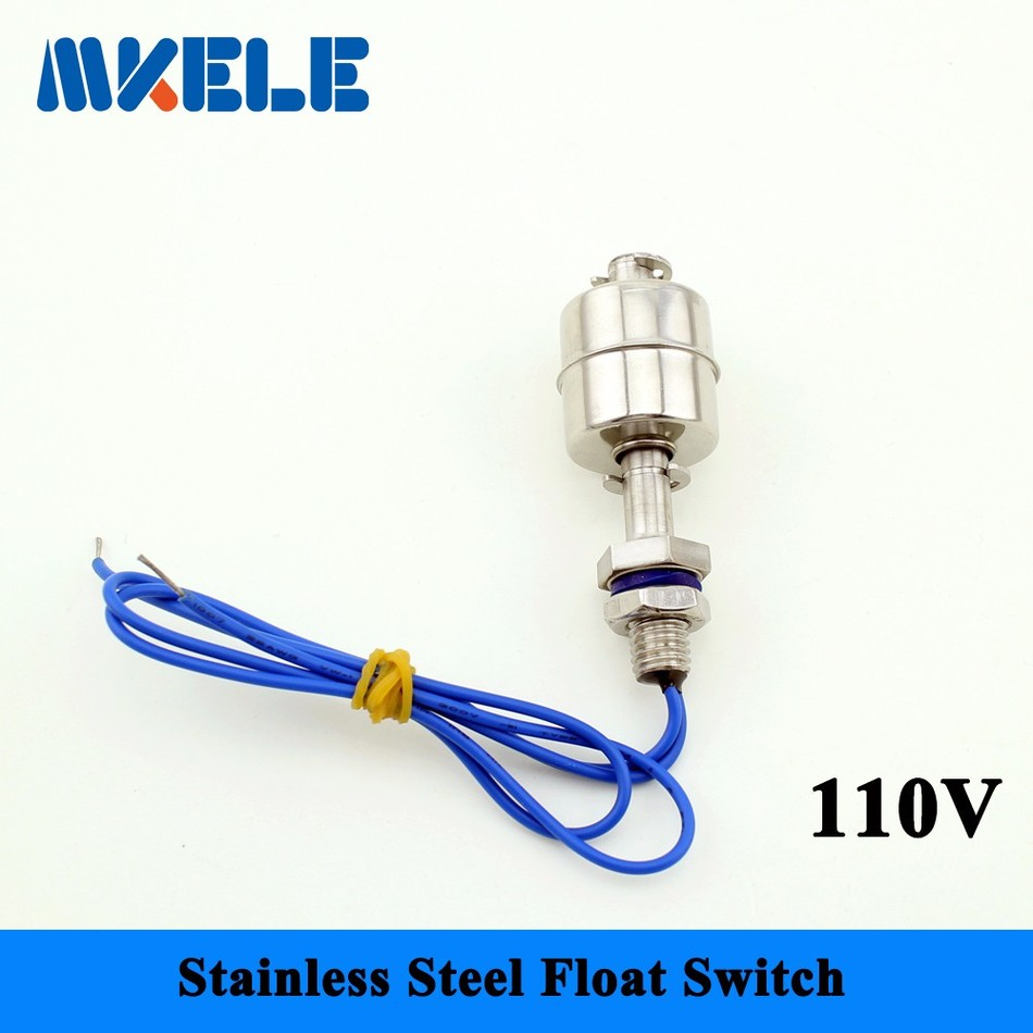 MK SFS6010 110V Liquid Water Level Control Sensor Stainless Steel Float Switch