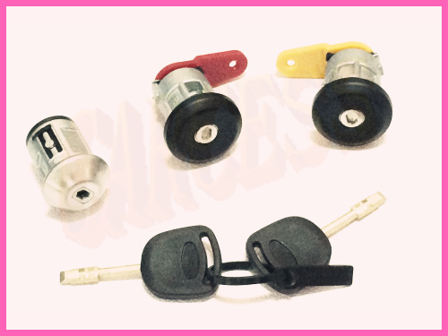 2 KEYS 4 DOOR LOCK CYLINDER NEW CHEVROLET OEM IGNITION SWITCH LOCK CYLINDER