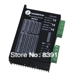 Leadshine M542 2phase CNC Stepper Motor Driver For cnc High-precision Machine leadshine 2 phase microstep driver m542 05 step motor driver 20v 50vdc 1 2a 5 04a for cnc router