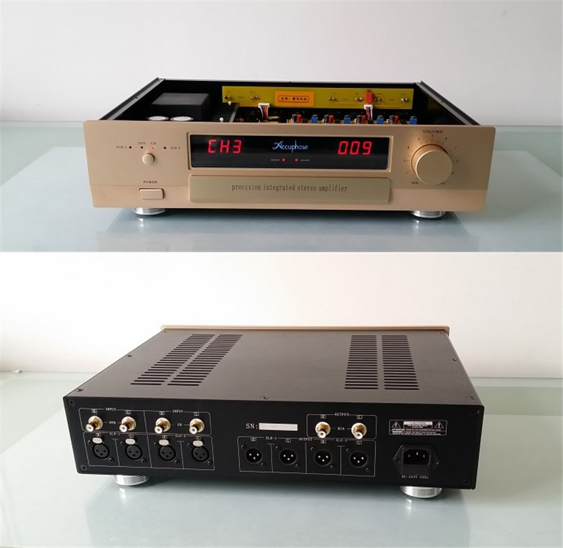 PA-1 Reference Preamplifier Pre AMP Preamp Pre-amplifier Pre amplifier full balanced discrete component Class A amplifier