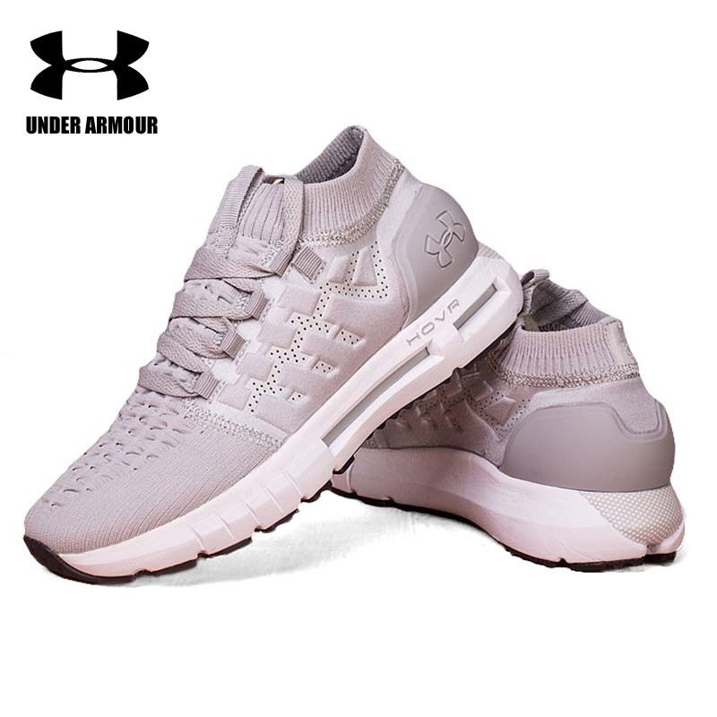 on sale 9d449 40bb1 US $58.9 5% OFF|Under Armour UA HOVR Phantom Socks Shoes men Running  Walking Shoes Zapatillas Hombre Deportiva Comfort Light Cushion Sneakers-in  ...
