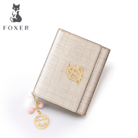 Foxer Brand Women Wallet Leather Simple Women S Purses 2017 Fashion Summer Womens Wallets And Purses