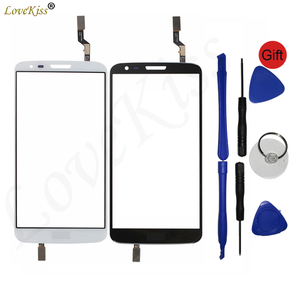 G2 Touch Screen Sensor For LG G2 D800 D801 D803 D805 D802 Touchscreen LCD Display Digitizer Front Panel Glass Cover Replacement