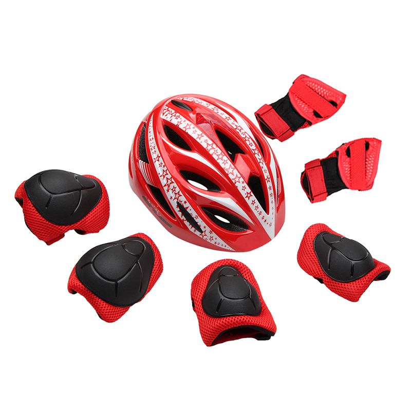 Ultralight Kids Cycling Skating Children Bicycle Bike Helmet Knee Elbow Guard Pad Child Ourdoor Sport Safety Protective Gear