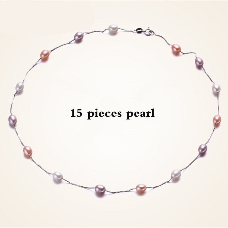 pearl necklace 6-7mm Fashion